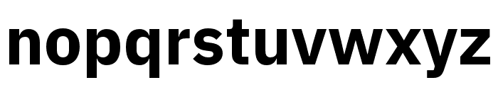 IBM Plex Arabic Bold Font LOWERCASE