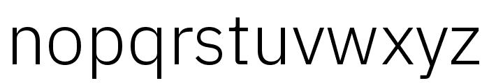 IBM Plex Arabic Light Font LOWERCASE
