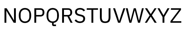 IBM Plex Arabic Regular Font UPPERCASE
