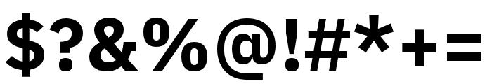 IBM Plex Devanagari Bold Font OTHER CHARS