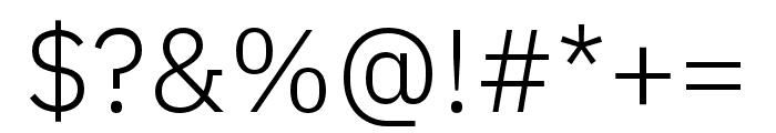 IBM Plex Devanagari Light Font OTHER CHARS