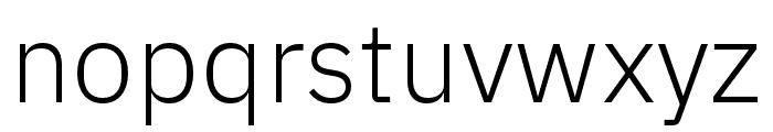 IBM Plex Devanagari Light Font LOWERCASE