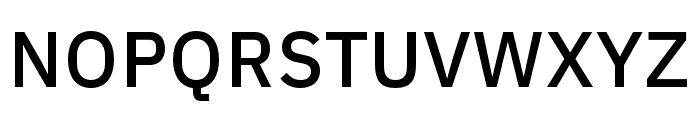 IBM Plex Devanagari Medium Font UPPERCASE