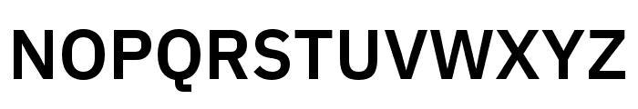 IBM Plex Devanagari SemiBold Font UPPERCASE