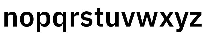 IBM Plex Devanagari SemiBold Font LOWERCASE