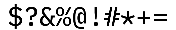 IBM Plex Mono Text Font OTHER CHARS