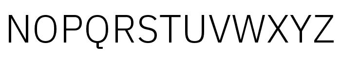 IBM Plex Sans Thai Looped Light Font UPPERCASE