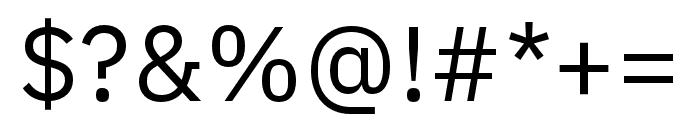 IBM Plex Sans Thai Looped Regular Font OTHER CHARS