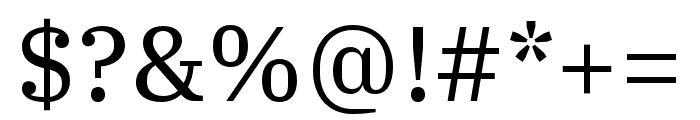 IBM Plex Serif Text Font OTHER CHARS