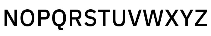 IBM Plex Thai Medium Font UPPERCASE