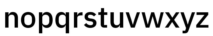 IBM Plex Thai Medium Font LOWERCASE
