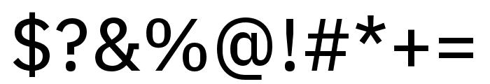 IBM Plex Thai Text Font OTHER CHARS