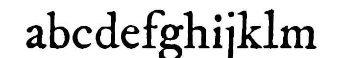 IM FELL DW Pica Regular Font LOWERCASE