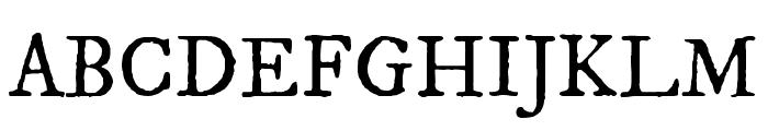 IM FELL DW Pica SC Regular Font UPPERCASE