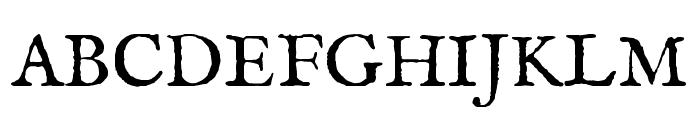IM FELL English SC Regular Font UPPERCASE