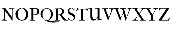 IM FELL French Canon Regular Font UPPERCASE