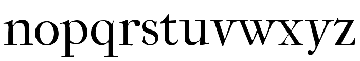 IM FELL French Canon Regular Font LOWERCASE