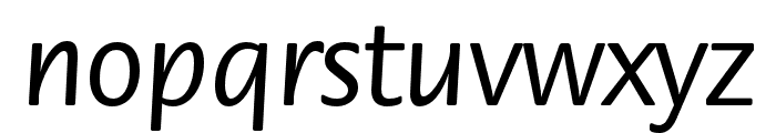 ITC Flora Std Medium Font LOWERCASE