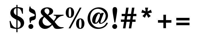 ITC Galliard Pro Black Italic Font OTHER CHARS