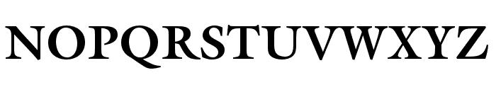 ITC Galliard Pro Black Italic Font UPPERCASE
