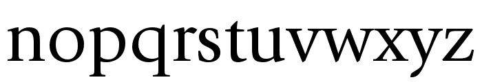 ITC Giovanni Std Book Font LOWERCASE