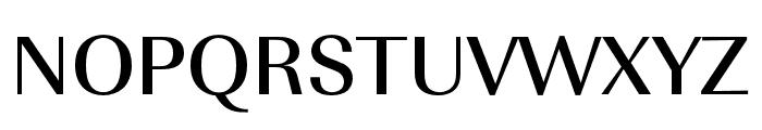 Imperial URW Wide Medium Font UPPERCASE
