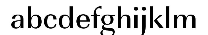 Imperial URW Wide Medium Font LOWERCASE