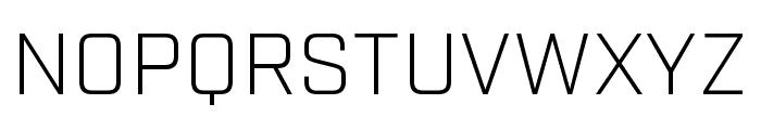 Industry Light Font UPPERCASE