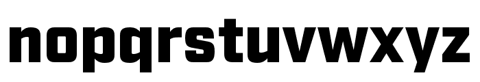 Industry Ultra Font LOWERCASE