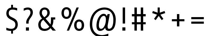 Info Correspondence Pro Regular Font OTHER CHARS