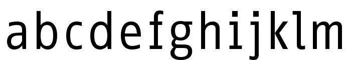 Info Correspondence Pro Regular Font LOWERCASE
