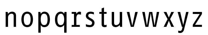 Info Text Pro Book Font LOWERCASE