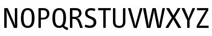 Info Text Pro Regular Font UPPERCASE