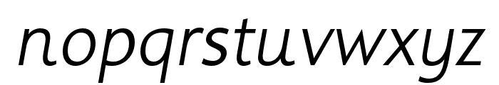 Informa Pro Bold Italic Font LOWERCASE