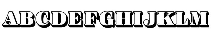 Ingeborg Heavy Font UPPERCASE