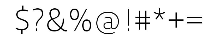 Ingra Cd Light Font OTHER CHARS