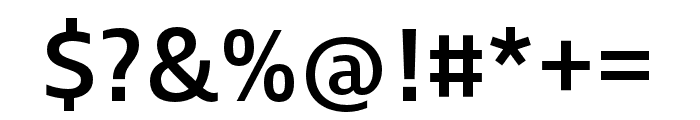 Ingra Cd Medium Font OTHER CHARS