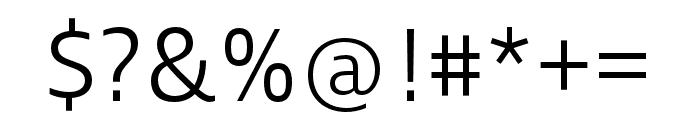 Ingra Light Font OTHER CHARS