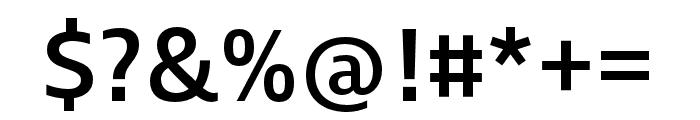 Ingra Medium Font OTHER CHARS
