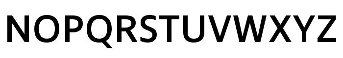 Ingra SemiBold Font UPPERCASE