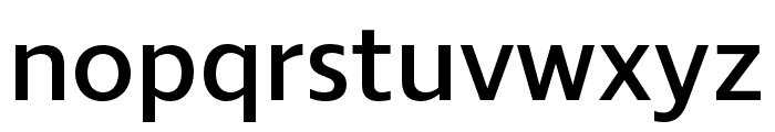 Ingra SemiBold Font LOWERCASE