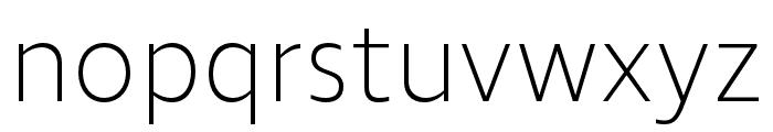 Ingra UltraLight Font LOWERCASE