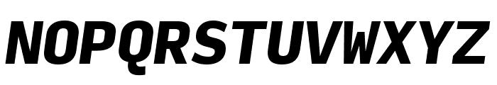 Input Mono Black Italic Font UPPERCASE