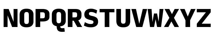Input Mono Compressed Black Font UPPERCASE