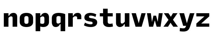 Input Mono Compressed Black Font LOWERCASE