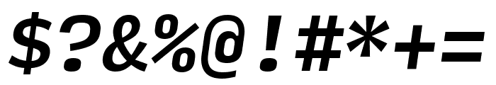 Input Mono Compressed Medium Italic Font OTHER CHARS