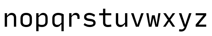 Input Mono Compressed Regular Font LOWERCASE
