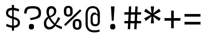 Input Mono Condensed Light Font OTHER CHARS