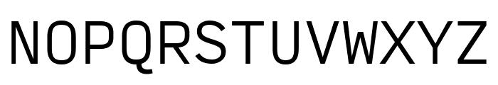 Input Mono Condensed Light Font UPPERCASE