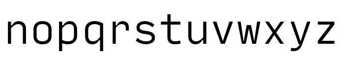 Input Mono Condensed Light Font LOWERCASE